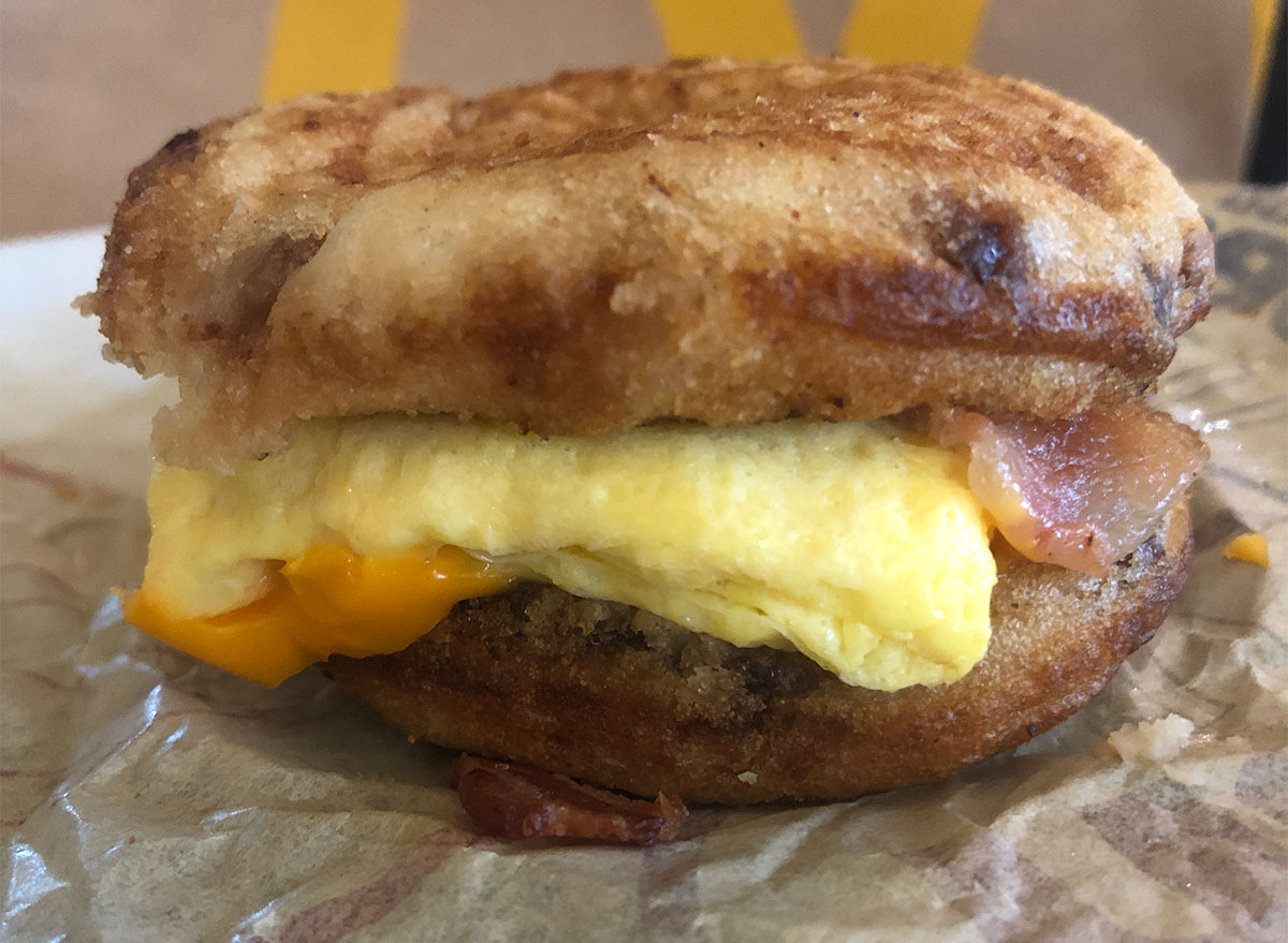 bacon egg and cheese mcgriddles
