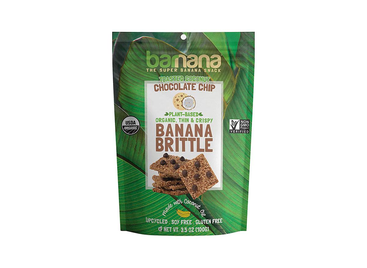 barnana toasted coconut chocolate chip crunchy banana brittle