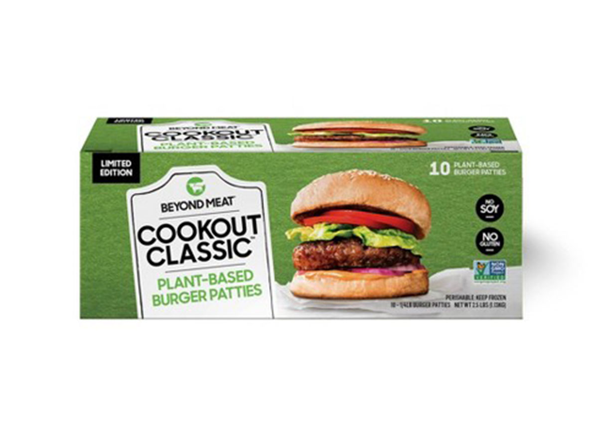 beyond meat cookout classic