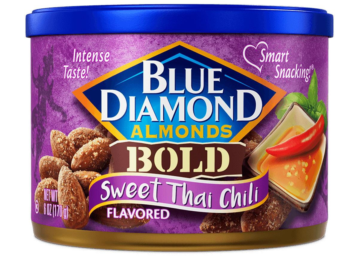 blue diamon sweet thai chili almonds