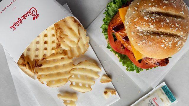 Chick-Fil-A spicy grilled chicken sandwich
