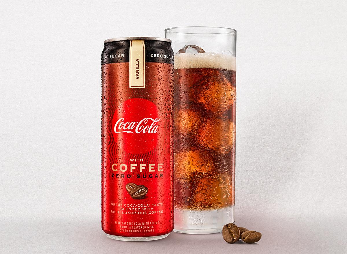 Coke Zero With Coffee