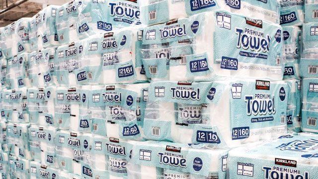 kirkland signature paper towels at costco