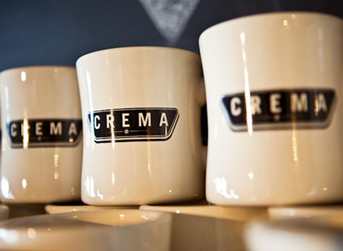 mugs from crema in nashville