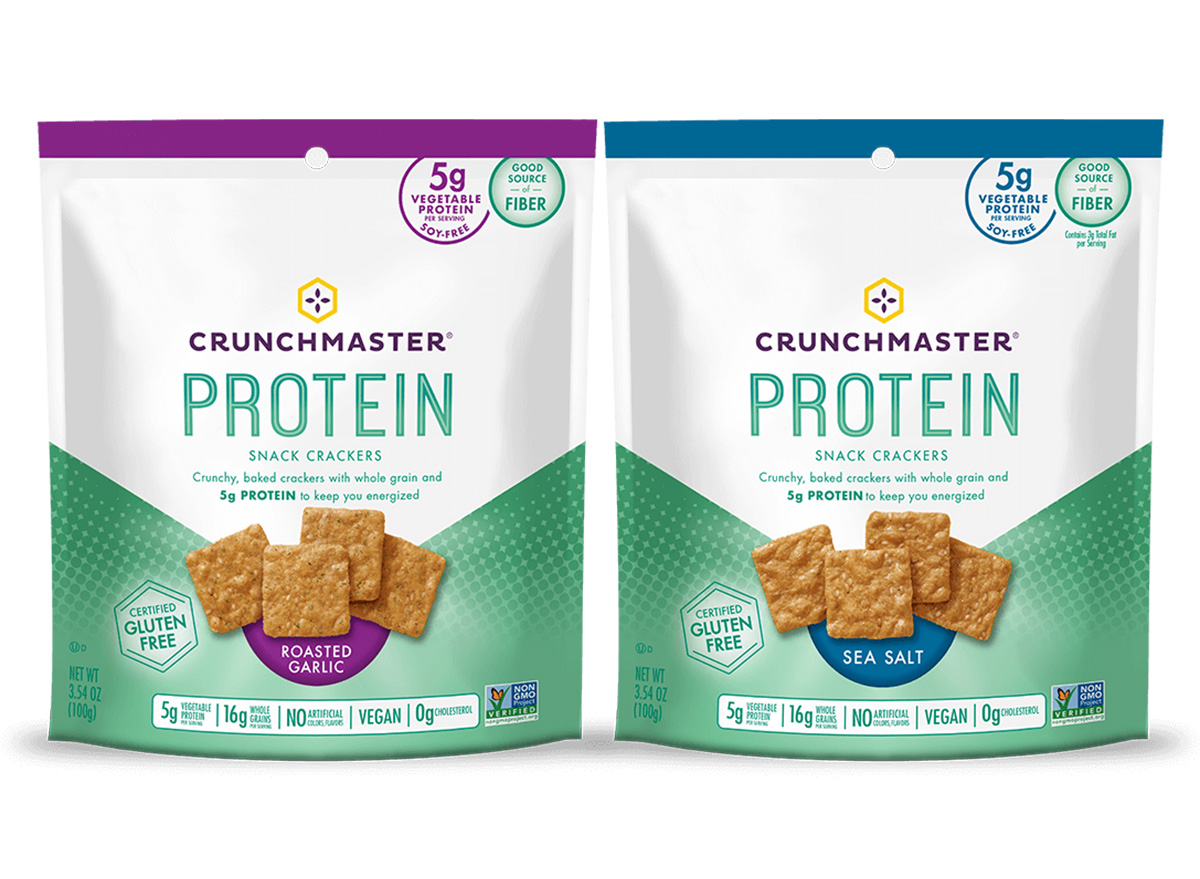crunchmaster protein crackers