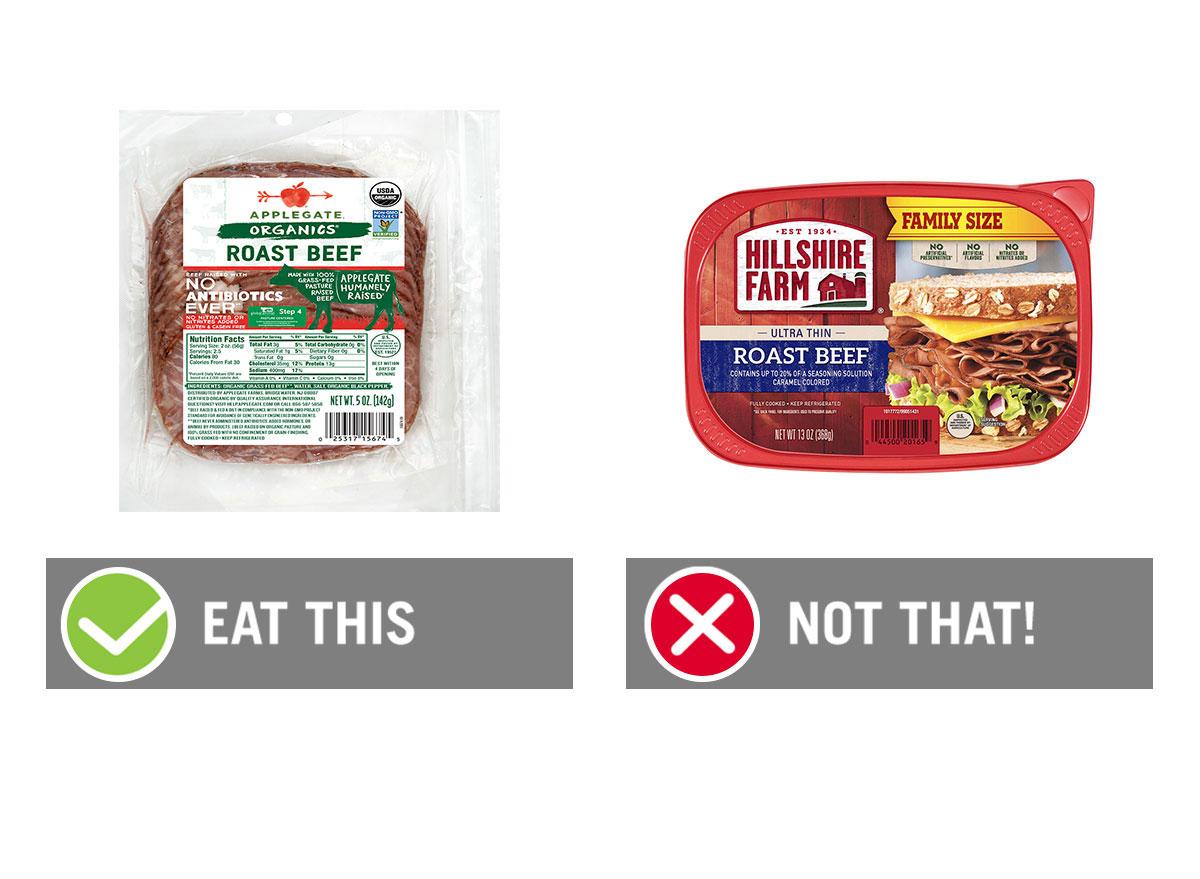 deli meats graphic