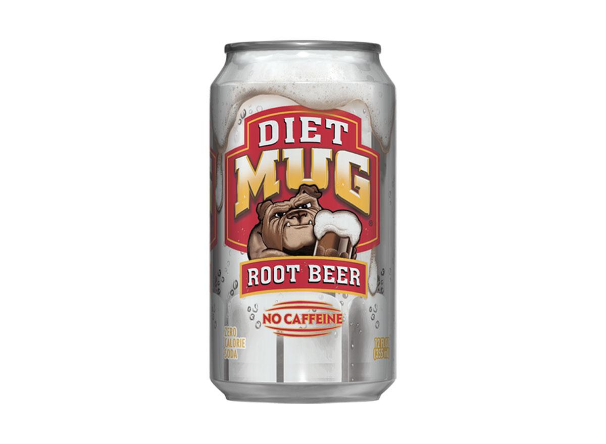 diet mug root beer