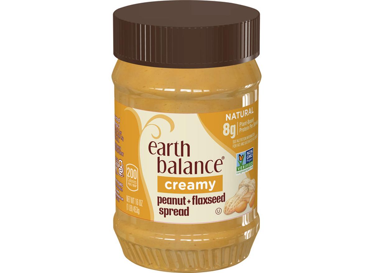 earth balance creamy peanut butter