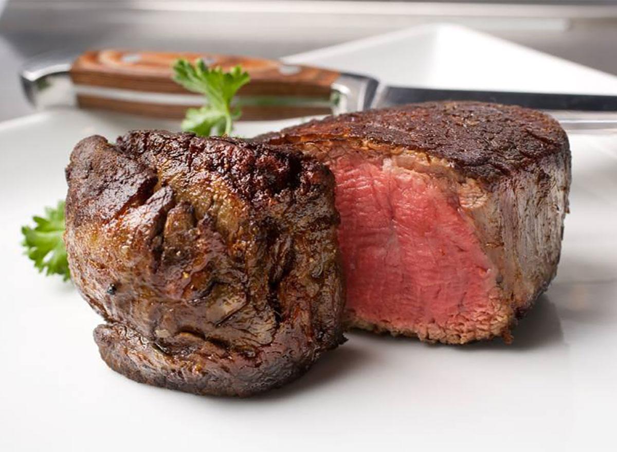 filet steak closeup