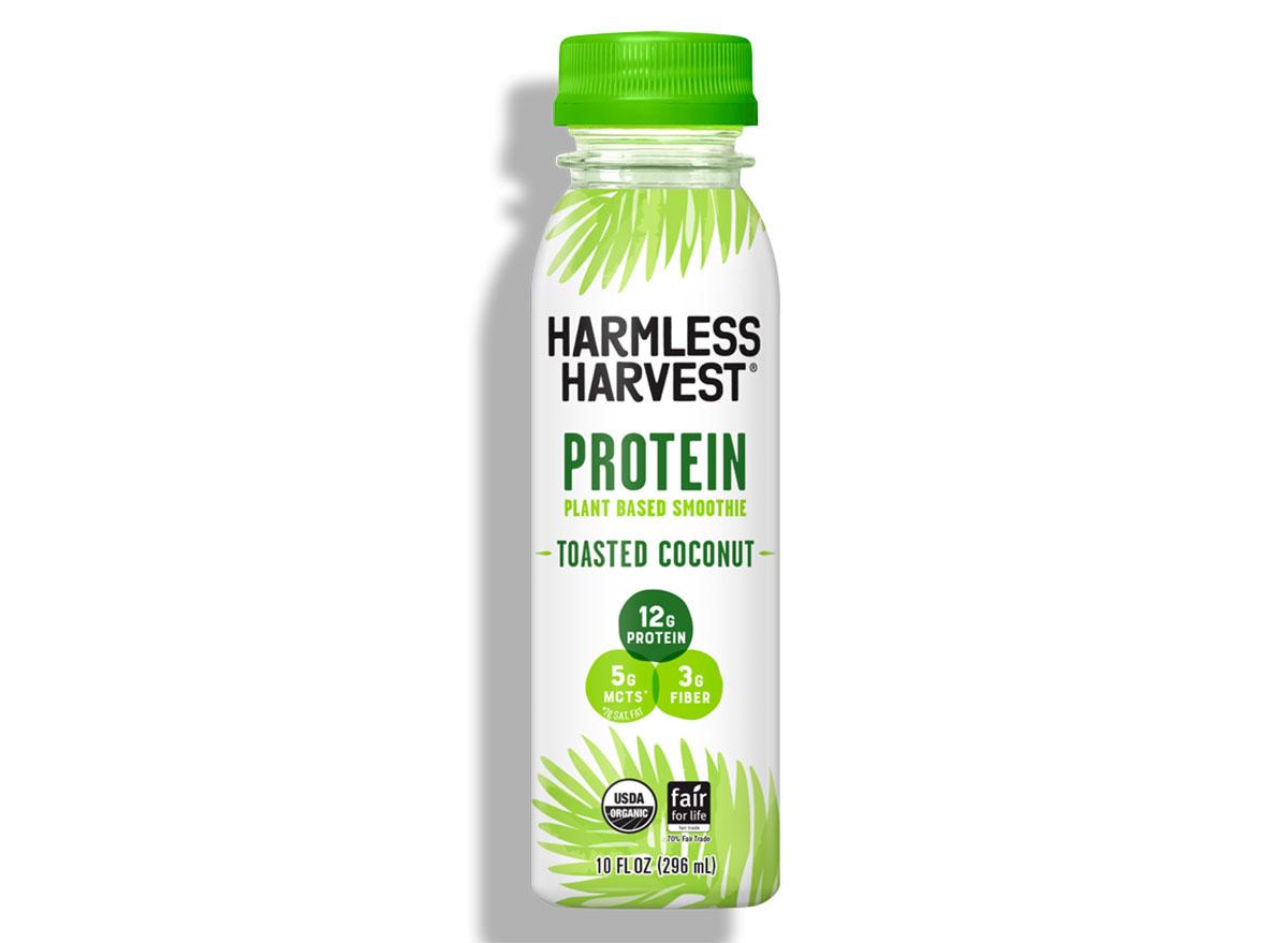 harmless harvest protein shake