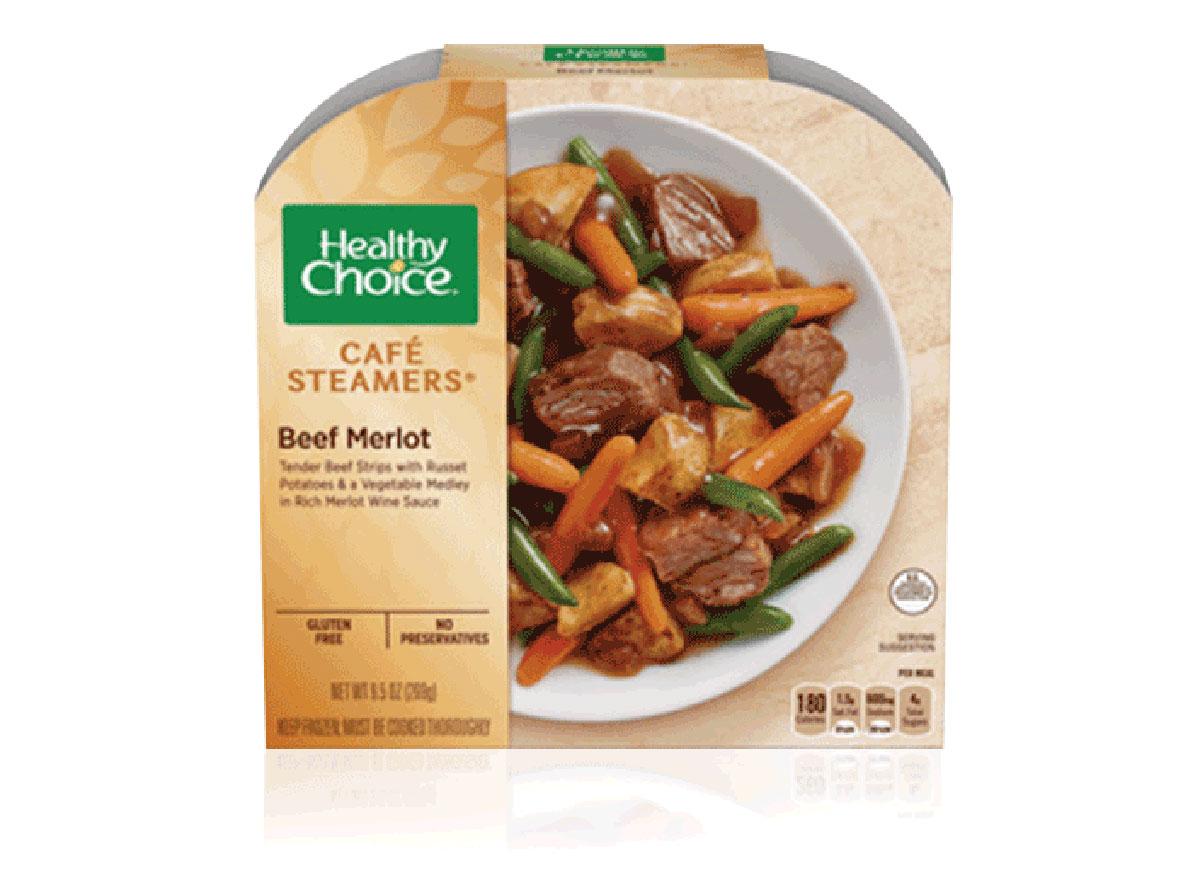 healthy choice frozen beef merlot