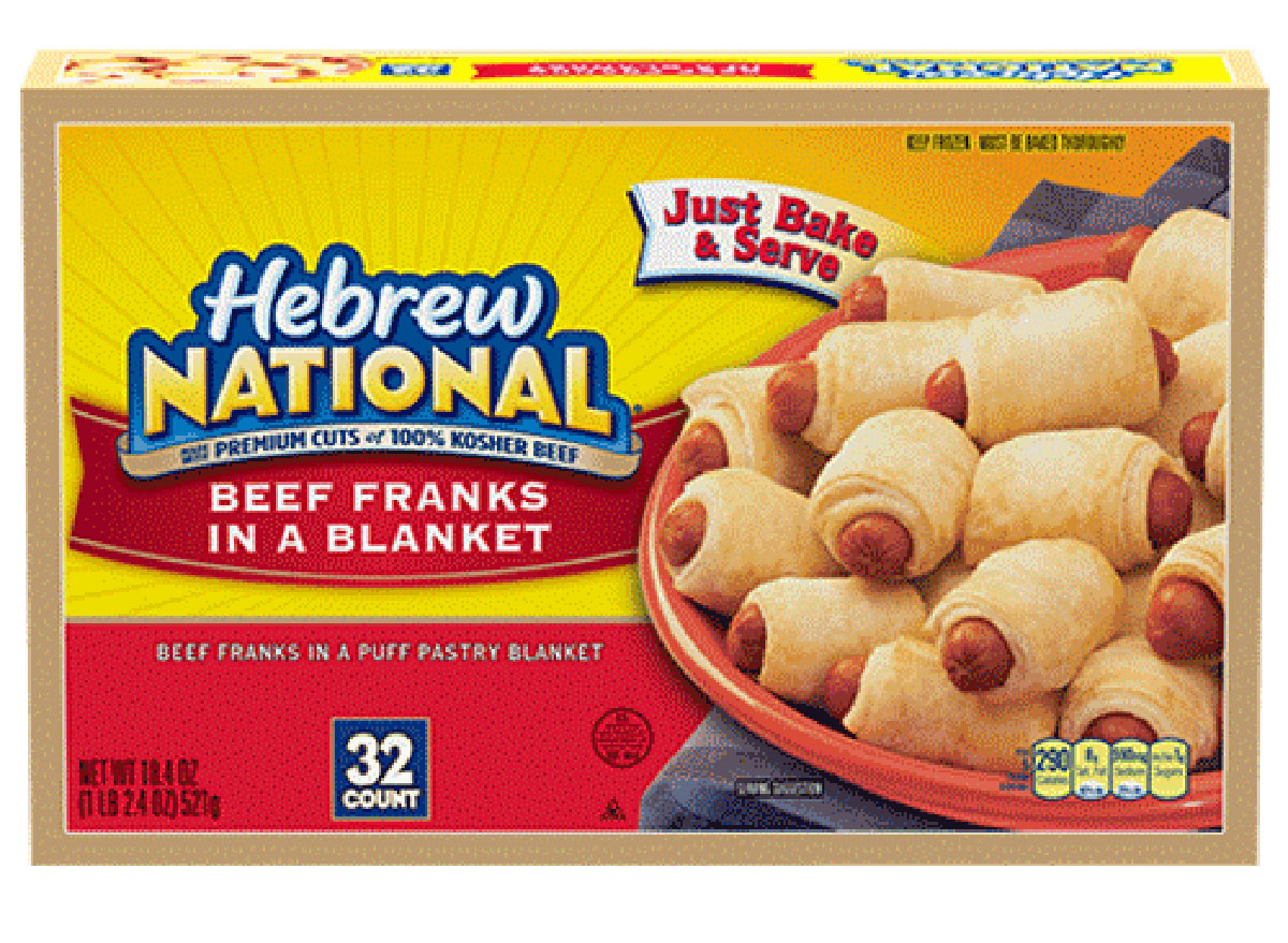 hebrew national pigs in a blanket
