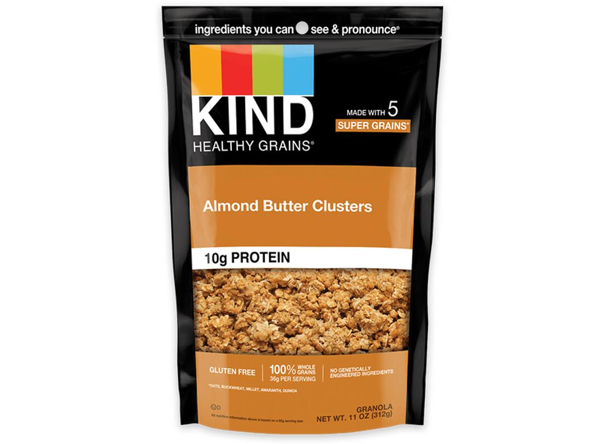 kind almond butter granola