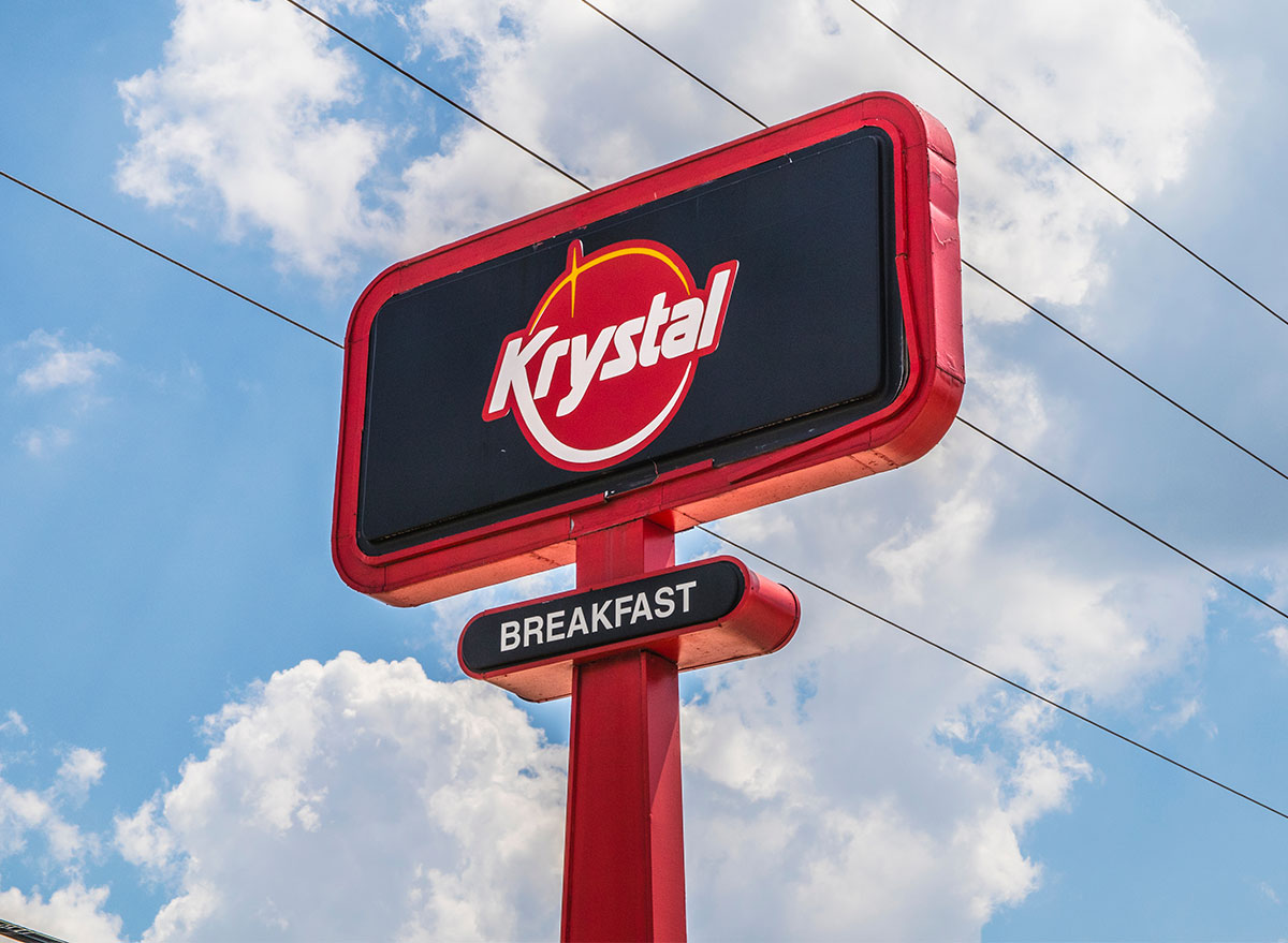 sign for krystal burgers