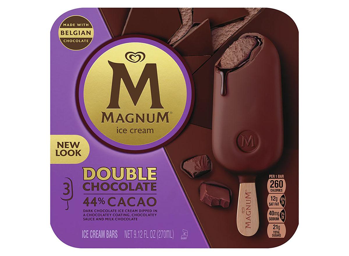 magnum double chocolate ice cream-bar