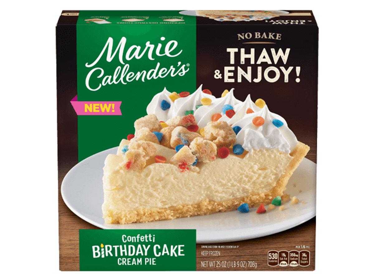 marie callenders birthday cake
