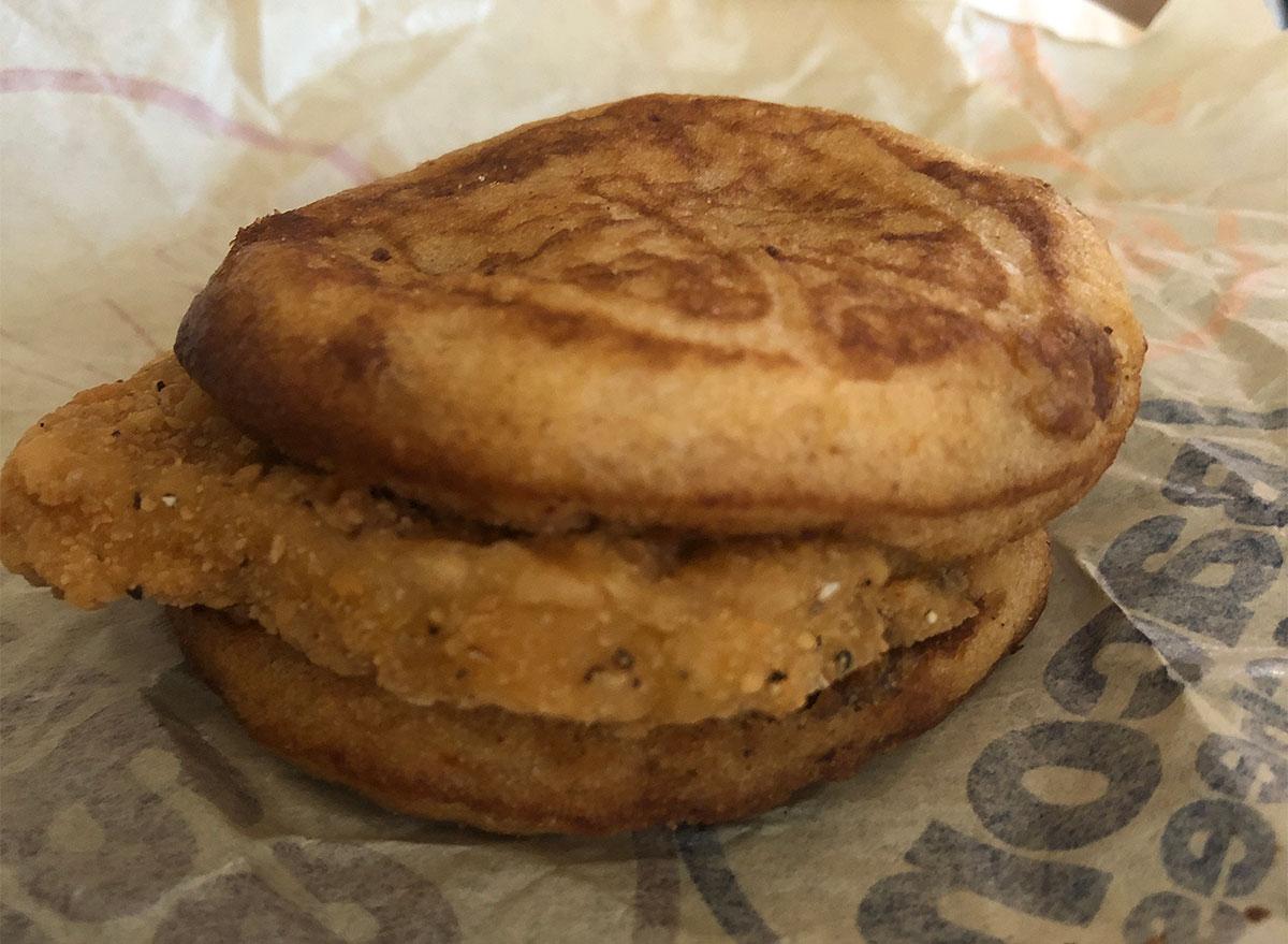 mcdonalds chicken mcgriddles sandwich