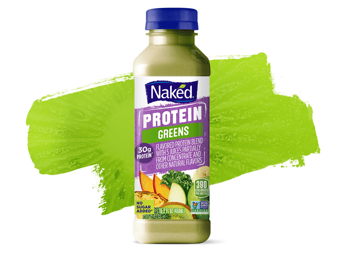 naked protein greens