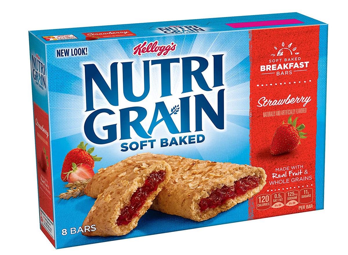 nutrigrain strawberry