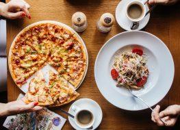 pasta pizza carbs
