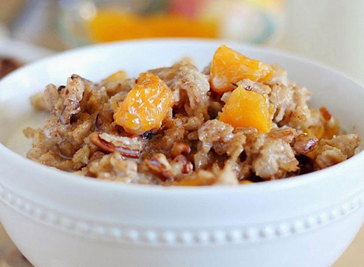 peach oats
