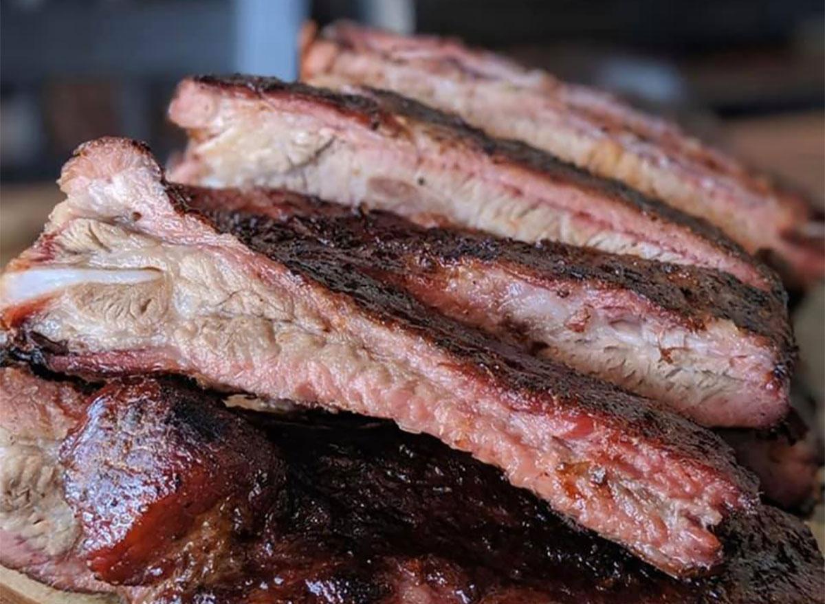 ribs closeup