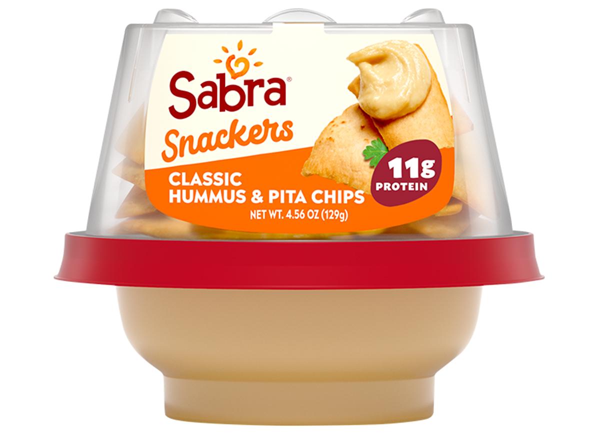 sabra snackers pita hummus