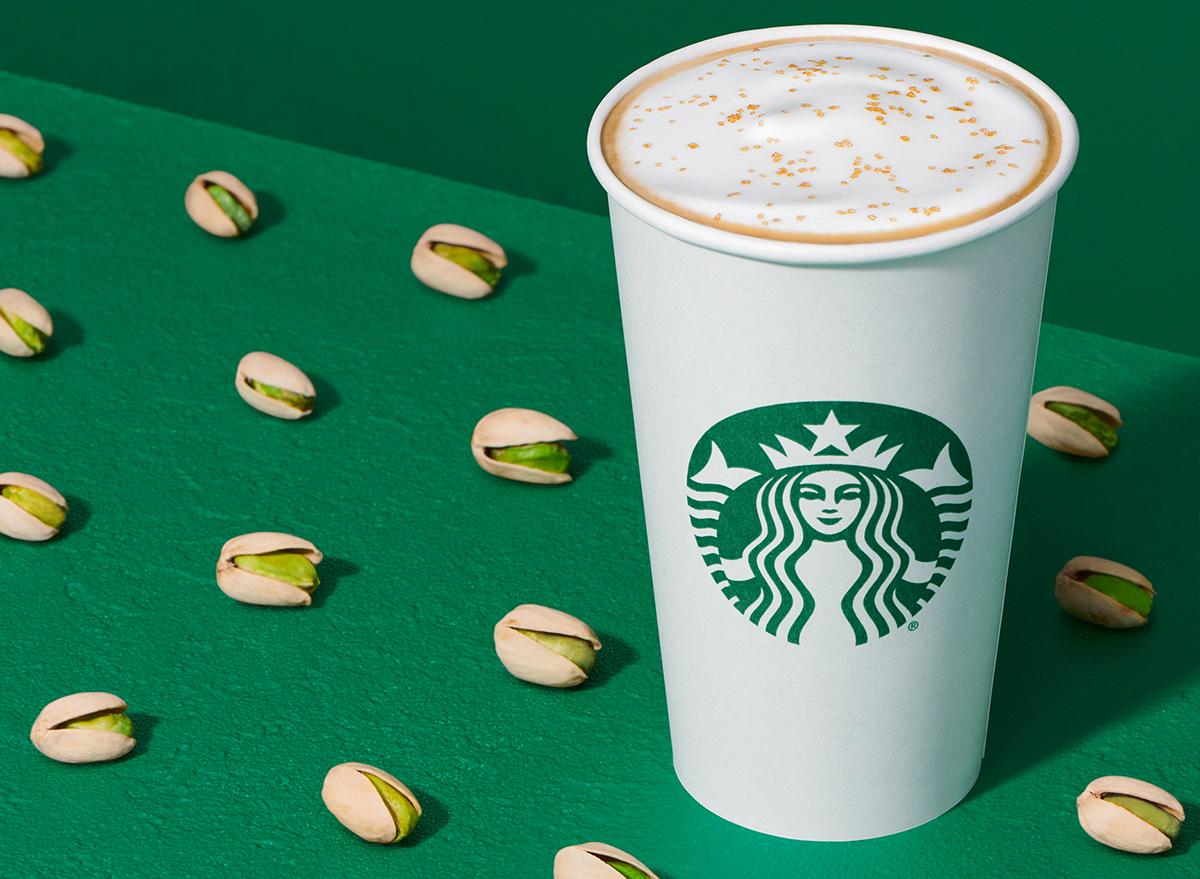 Starbucks Pistachio Latte
