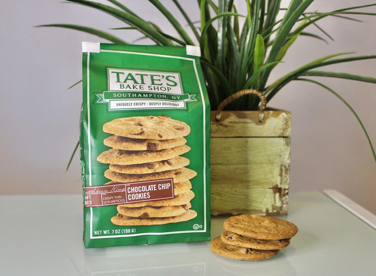 tates chocolate chip cookies bag