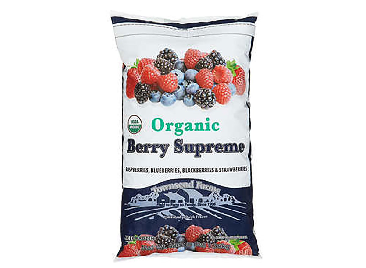 bag of townsend farms organic berries