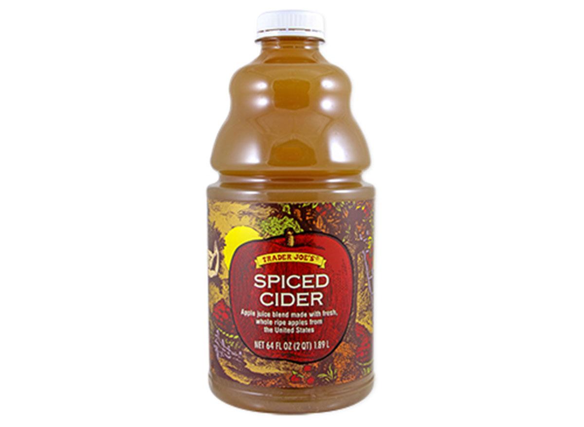 trader joes spiced apple cider