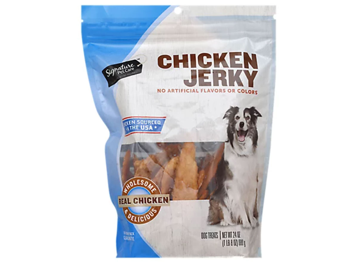 albertsons chicken jerky