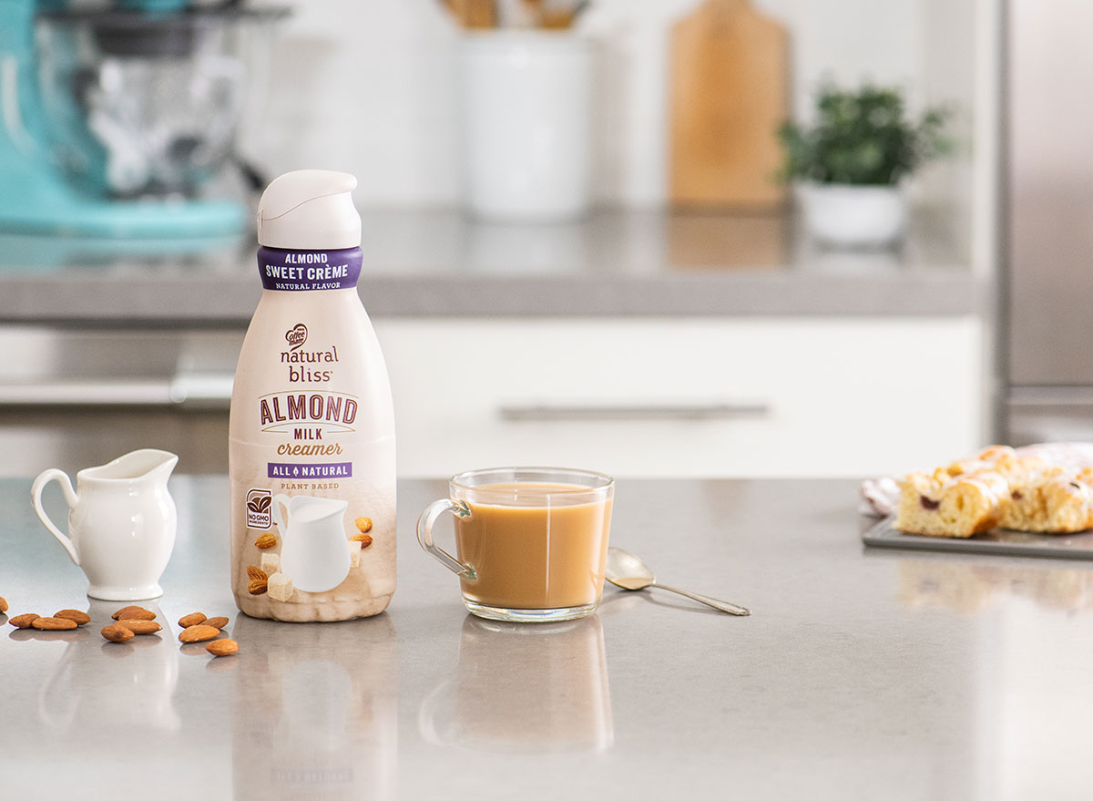 almond milk creamer natural bliss