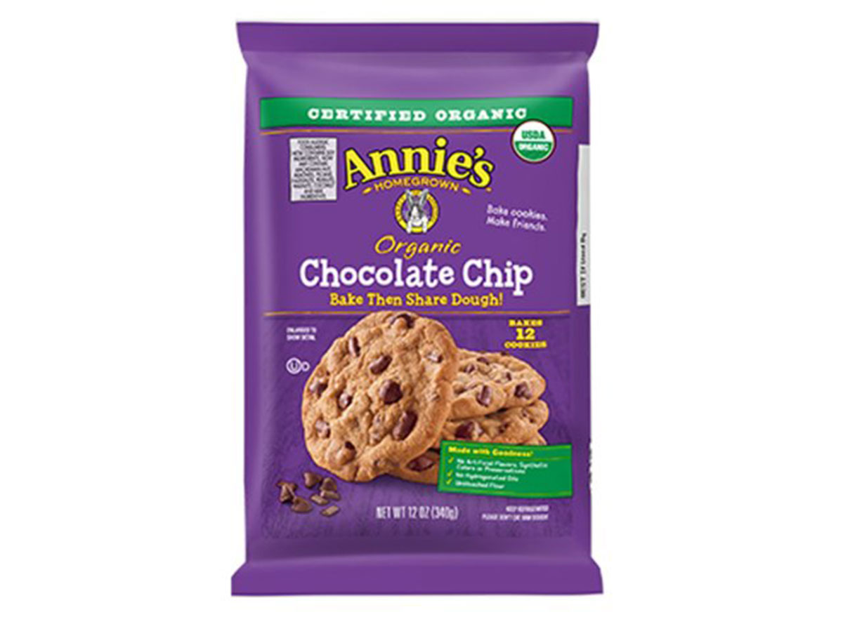 annies chocolate chip cookie dough