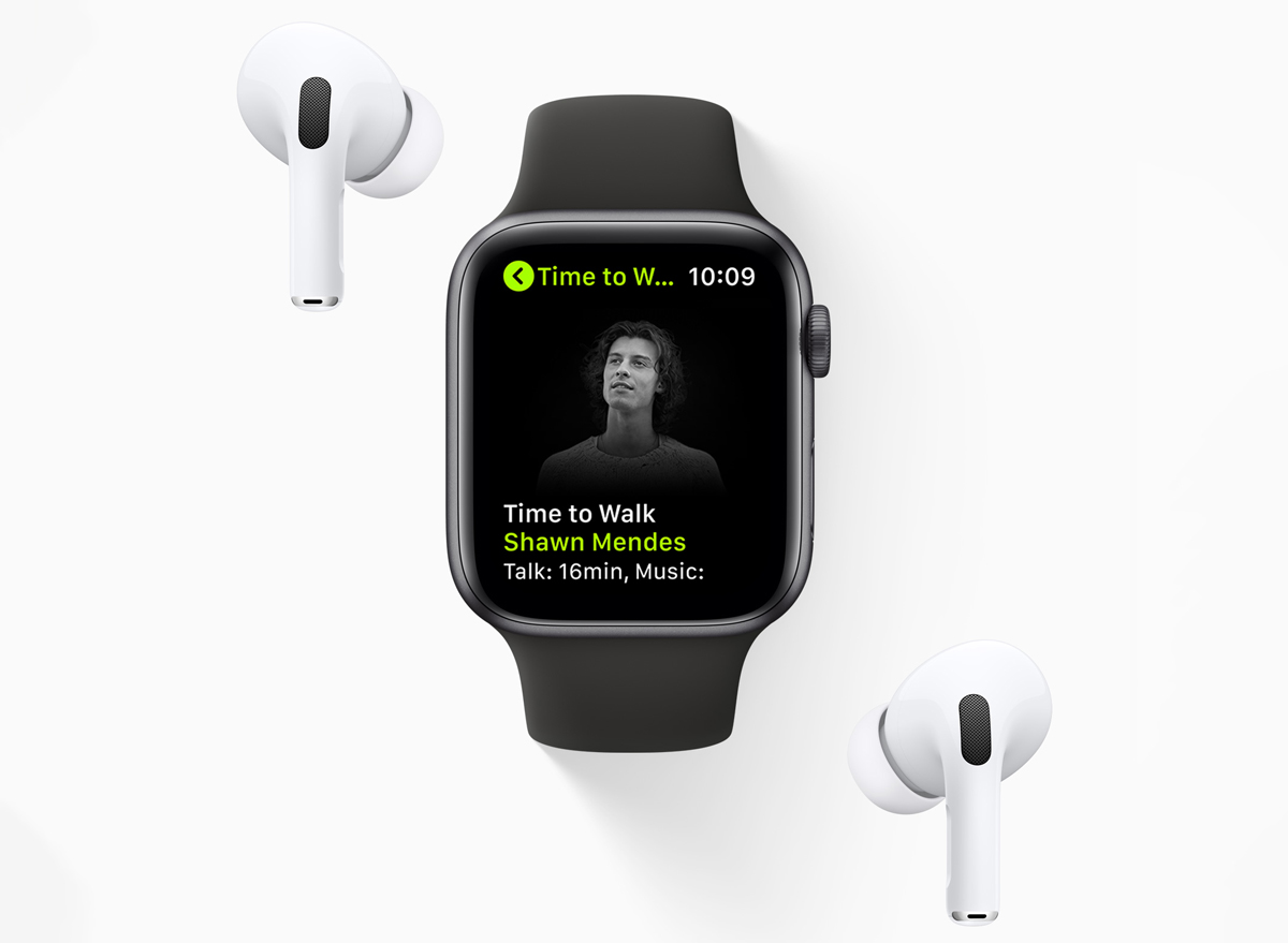 time to walk feature apple watch
