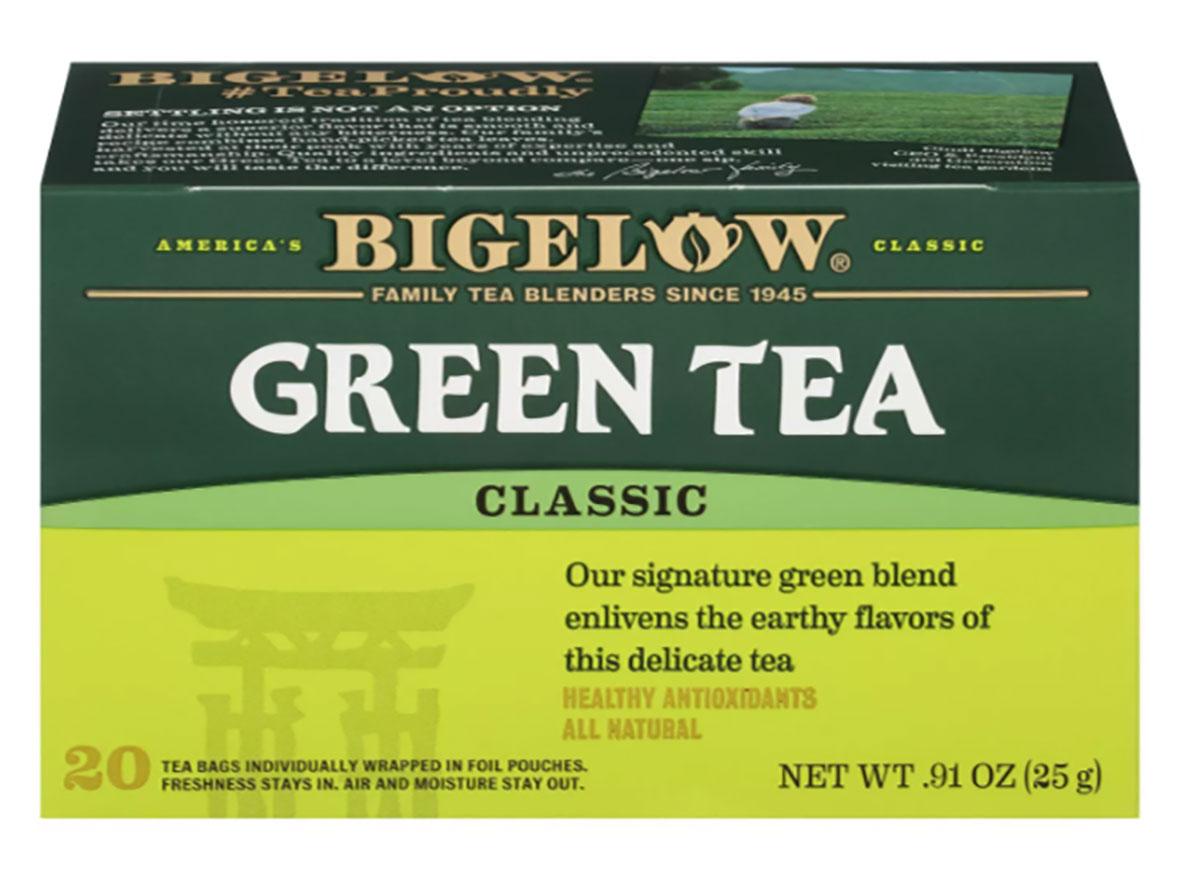 box of bigelow green tea