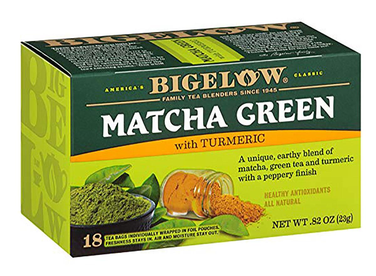 box of bigelow matcha green tea
