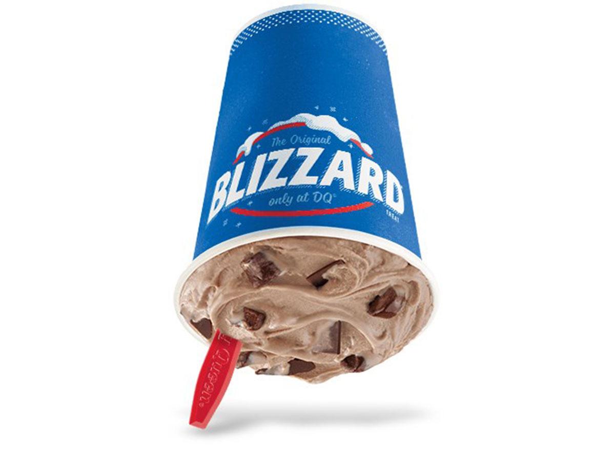 brownie dough blizzard