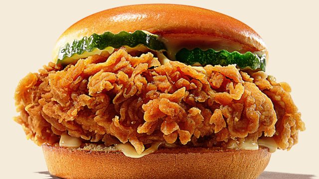 burger king chicken sandwich