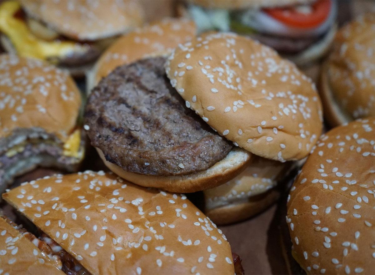 burger king hamburger