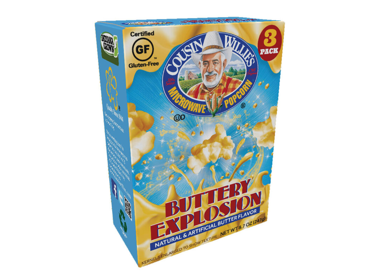 buttery explosion