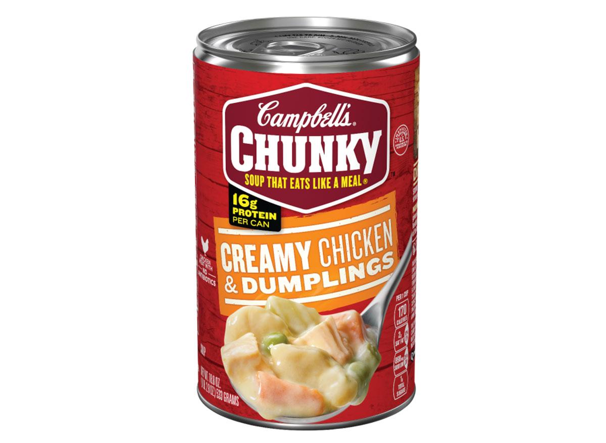 campbells chicken dumplings