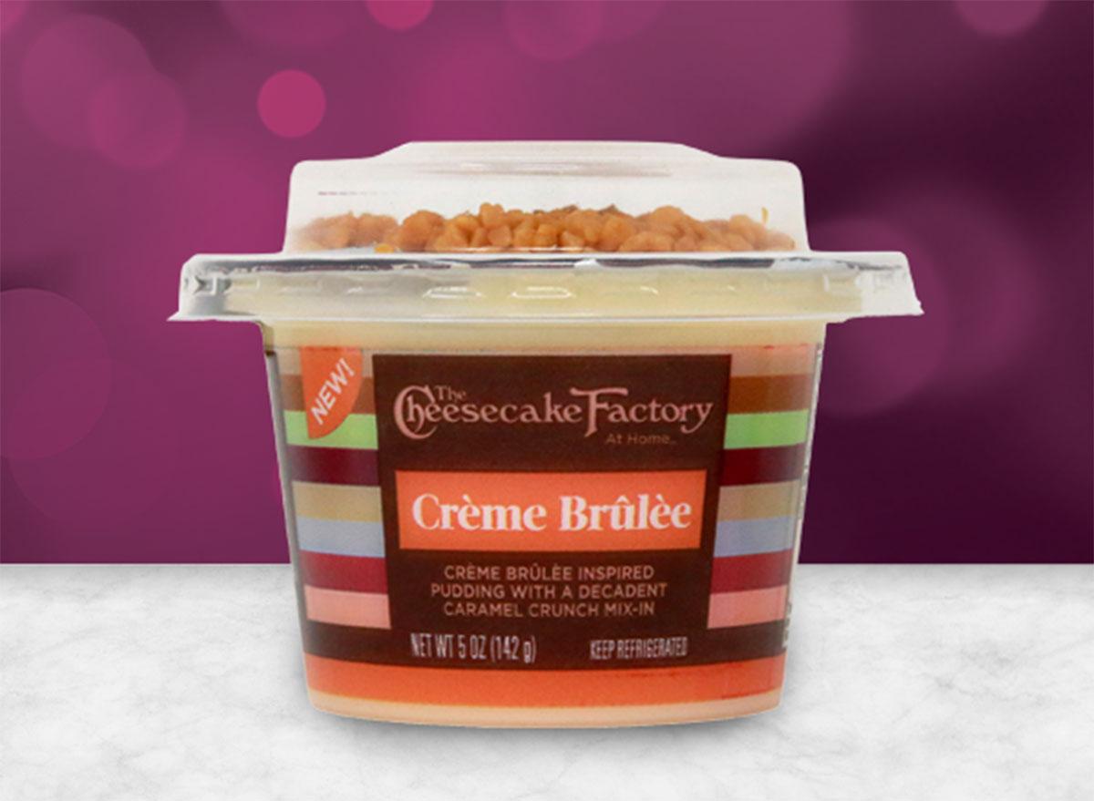cheesecake factory premium pudding