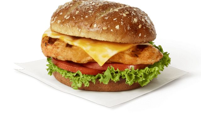 Chick fil a spicy deluxe sandwich