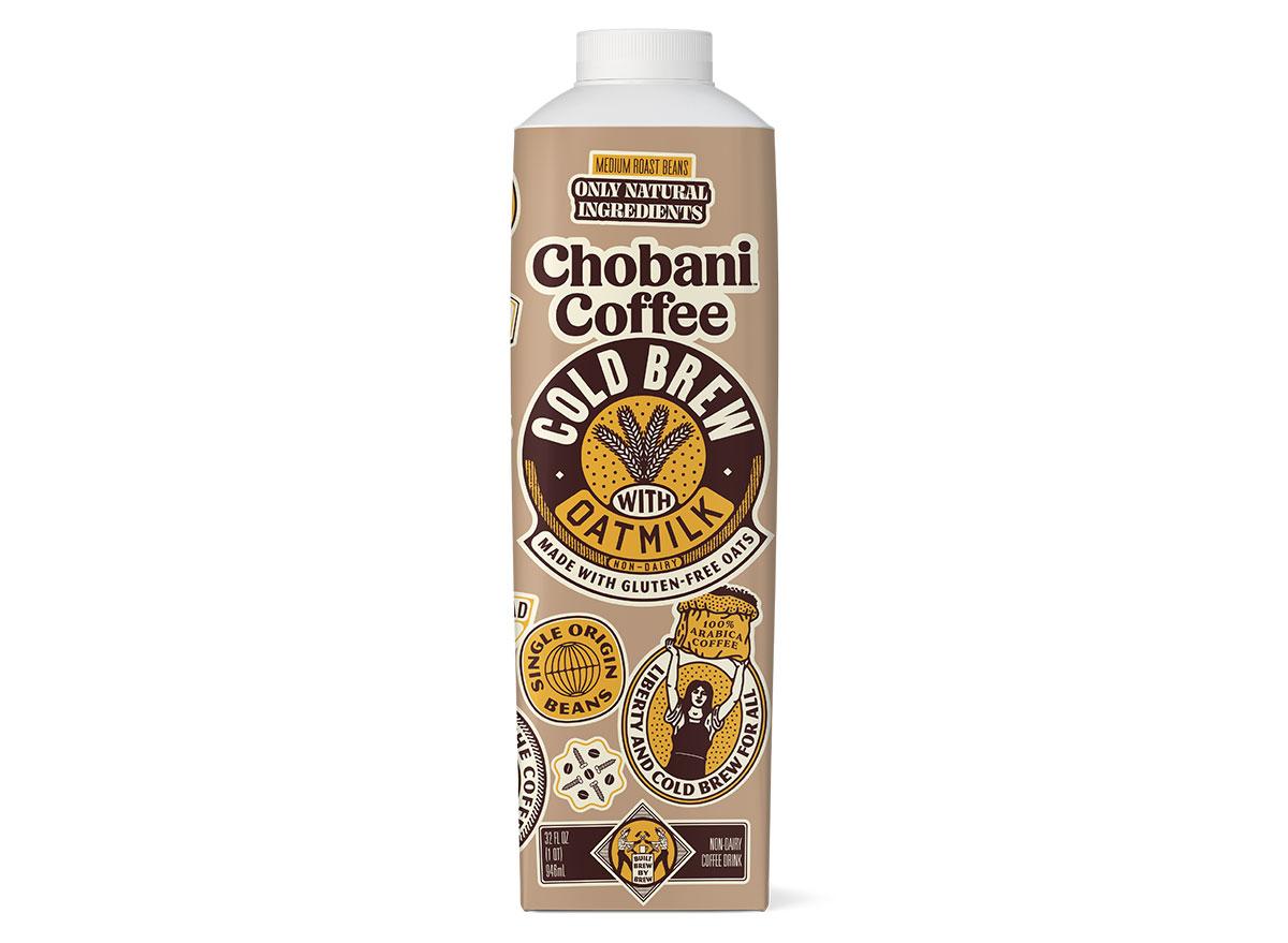 chobani coffee cold brew