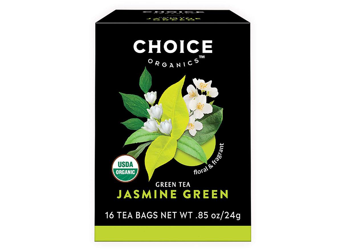 box of choice organics green tea
