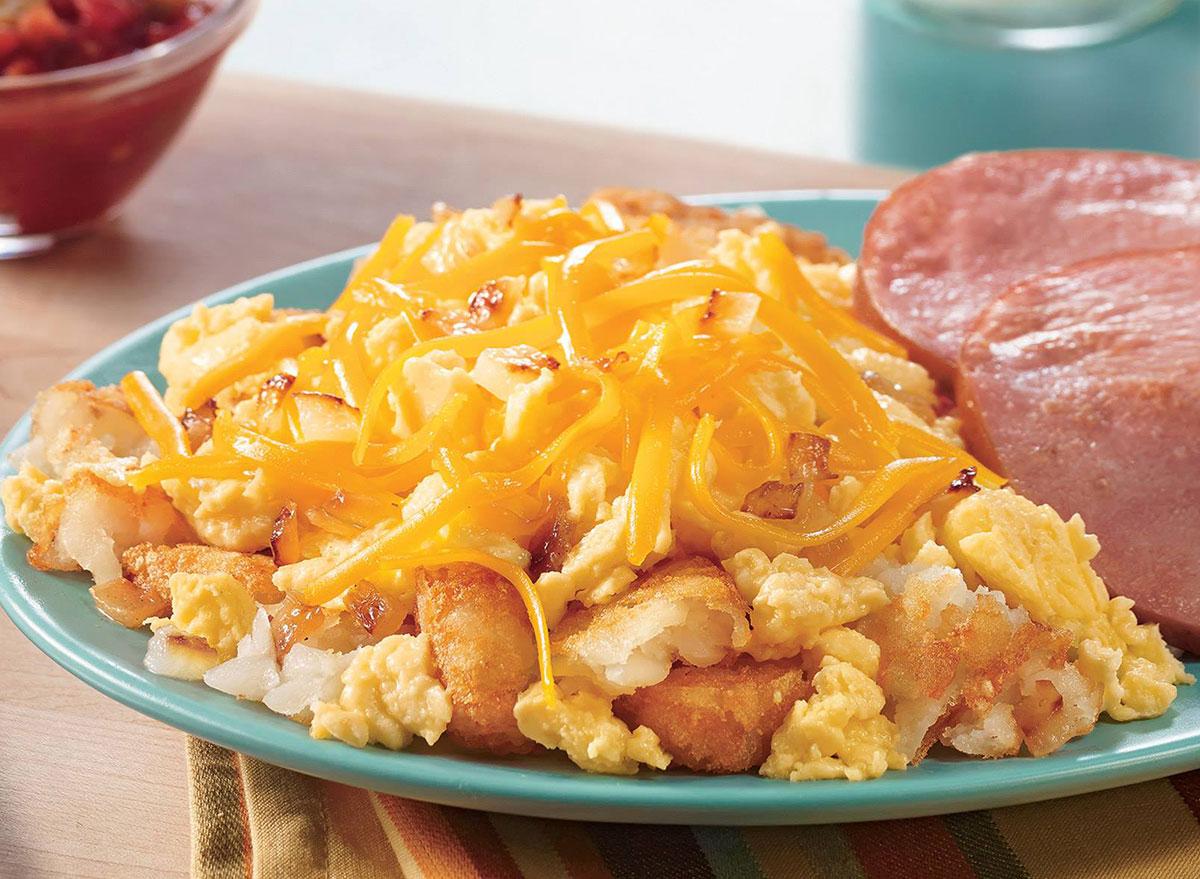 dairy queen breakfast platter