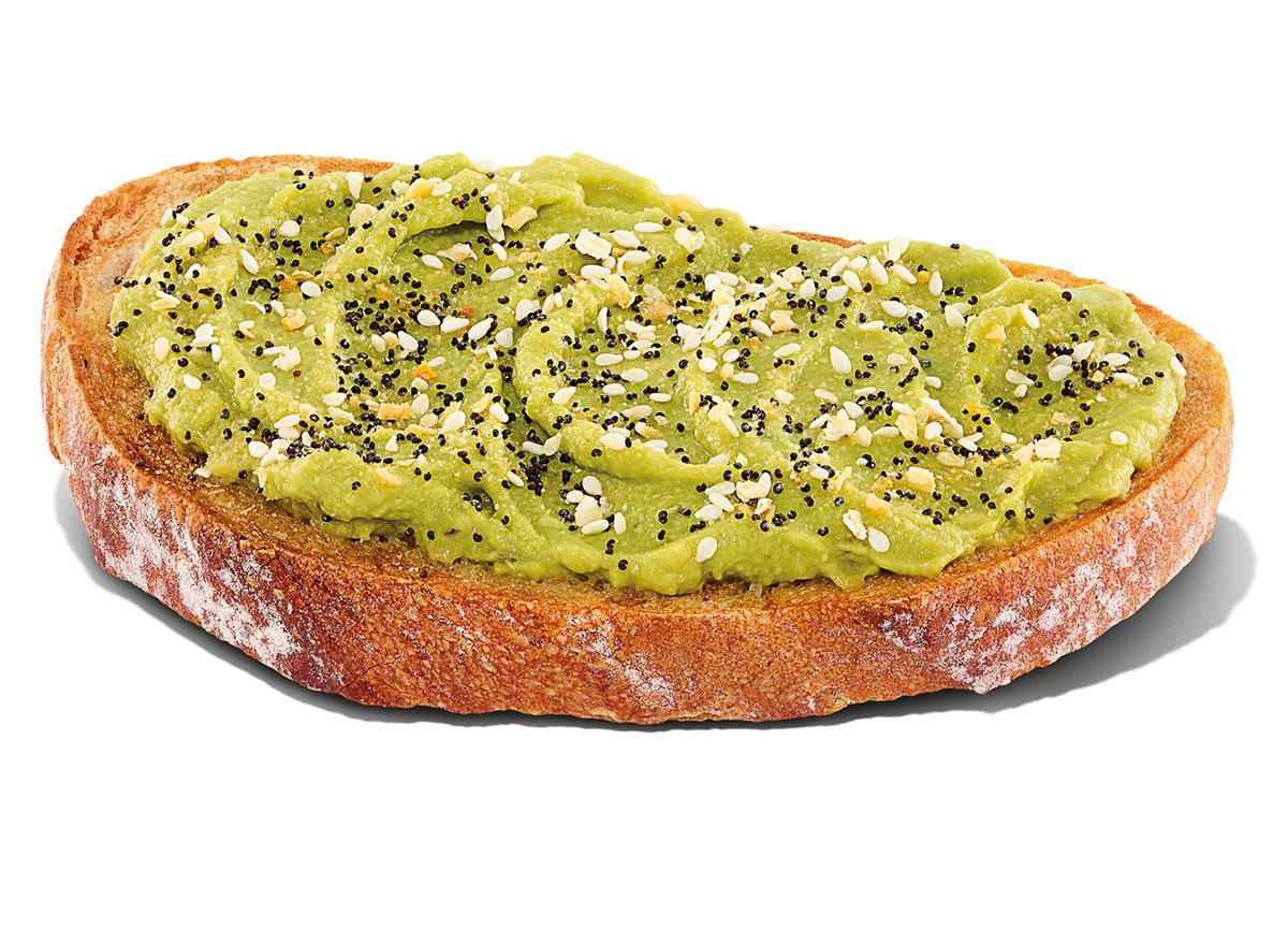 dunkin avocado toast
