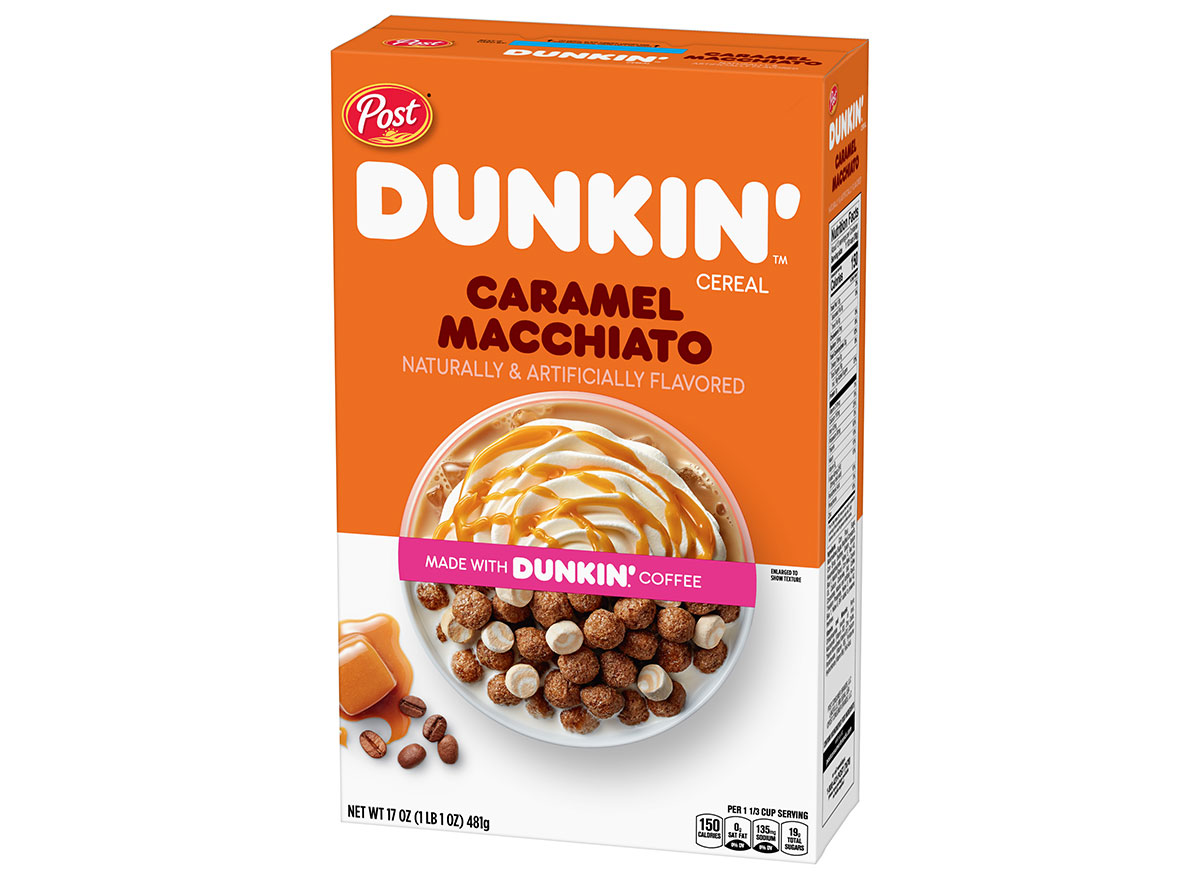 dunkin cereal