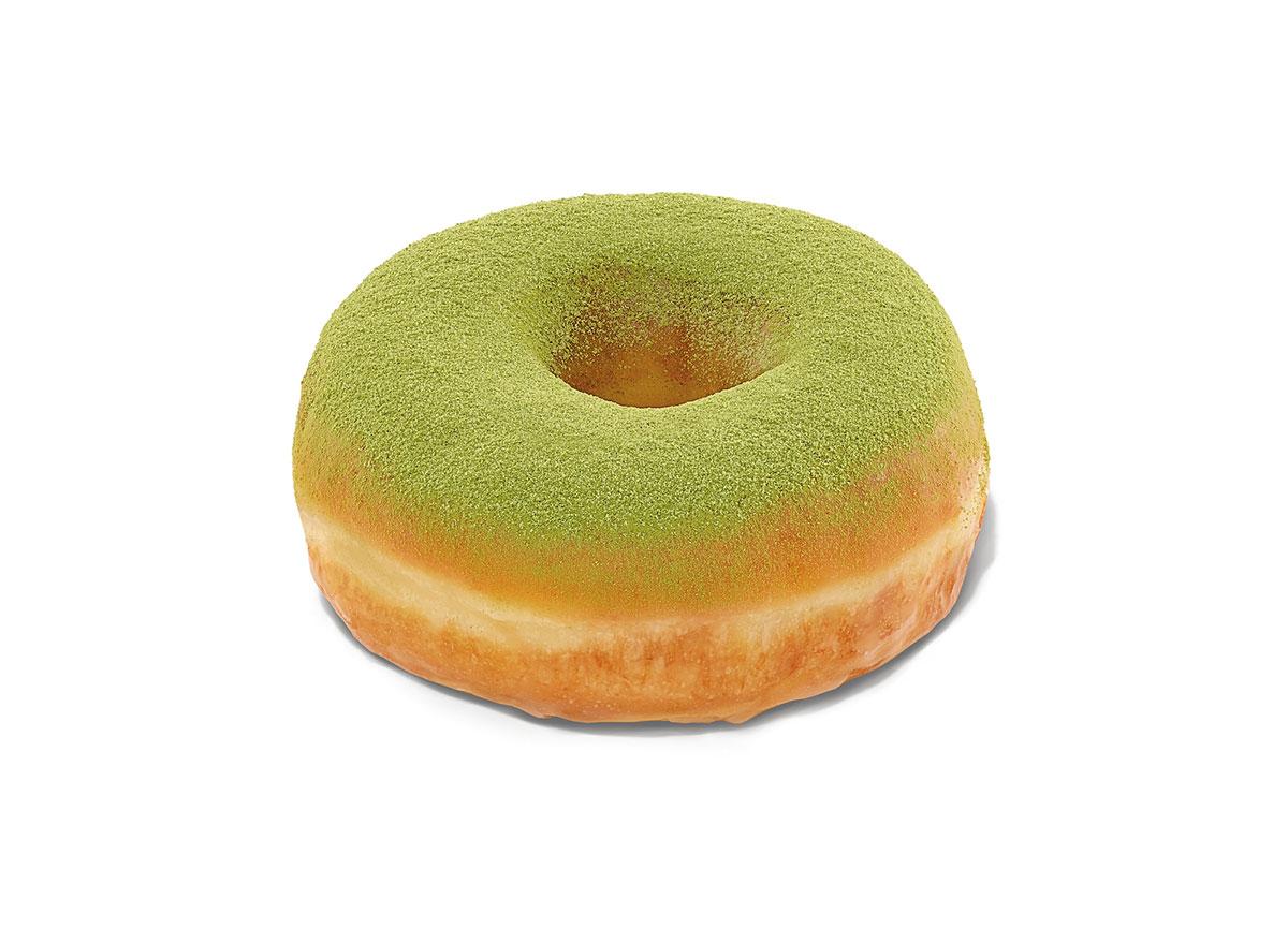 dunkin matcha donut